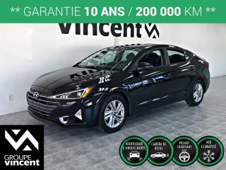 Used 2019 Hyundai Elantra PREFERRED ** GARANTIE 10 ANS ** Démonstrateur! for sale in Shawinigan, QC