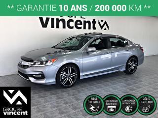Used 2017 Honda Accord SPORT ** GARANTIE 10 ANS ** Confort et fiabilité légendaire! for sale in Shawinigan, QC
