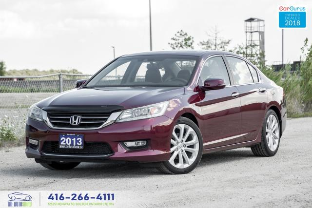 2013 Honda Accord Touring 2.4 NavGps CleanCarfax Certified Financing
