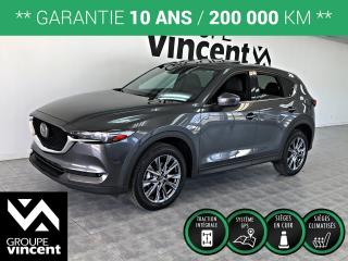 Used 2019 Mazda CX-5 SIGNATURE AWD**GARANTIE 10 ANS** Démonstrateur! for sale in Shawinigan, QC