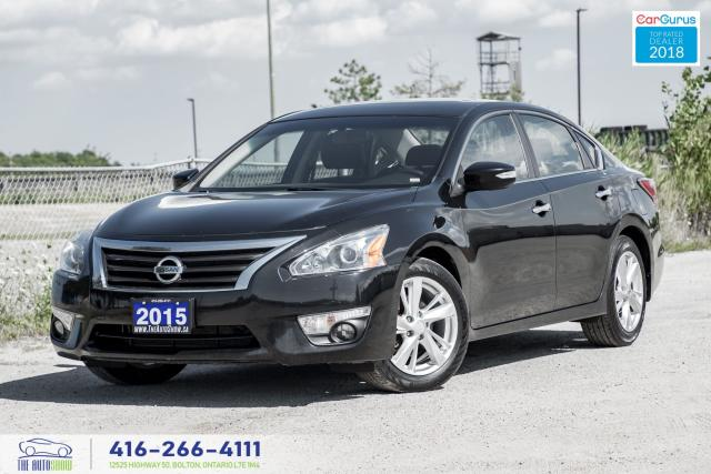 2015 Nissan Altima SL 2.5 TECH NAV GPS LEATHER/ROOF CERTIFIED FINANCE