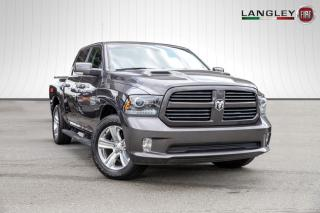 Used 2017 RAM 1500 Sport 4X4, TONNEAU COVER, TOW PACKAGE! for sale in Surrey, BC