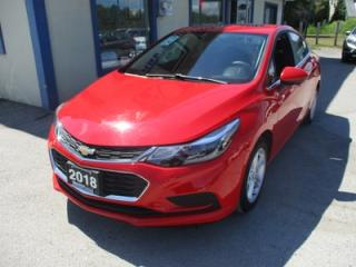 Used 2018 Chevrolet Cruze LIKE NEW LT MODEL 5 PASSENGER 1.4L - TURBO.. HEATED SEATS.. BOSE AUDIO.. POWER SUNROOF.. BACK-UP CAMERA.. BLUETOOTH.. for sale in Bradford, ON