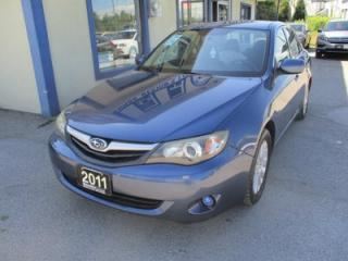 Used 2011 Subaru Impreza FUEL EFFICIENT ALL-WHEEL DRIVE 5 PASSENGER 2.5L - TURBO.. CD/AUX/USB INPUT.. BLUETOOTH SYSTEM.. KEYLESS ENTRY.. for sale in Bradford, ON