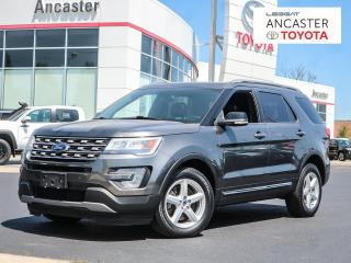 Used 2017 Ford Explorer XLT - 7PASS|SUNROOF|LEATHER|BLUETOOTH for sale in Ancaster, ON