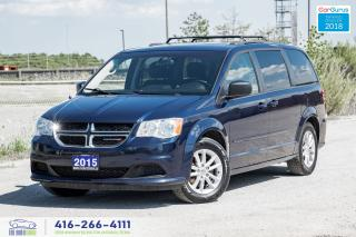 Used 2015 Dodge Grand Caravan SXT DVD R*CAM 1OWNER BLUETOOTH CERTIFIED FINANCING for sale in Bolton, ON