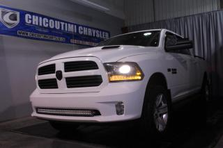 Used 2014 RAM 1500 Cabine multiplaces 4RM, 149 po Sport for sale in Chicoutimi, QC