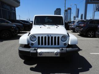 Used 2015 Jeep Wrangler Unlimited Sahara NAVI/REMOTE STARTER for sale in Concord, ON