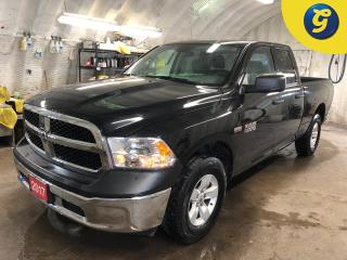 Used 2017 RAM 1500 SXT * 4X4 * Quad cab * 5.7L HEMI VVT V8 engine with FuelSaver MDS * Trailer brake control * Class IV hitch receiver * Hands free steering wheel contro for sale in Cambridge, ON