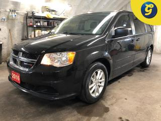 Used 2016 Dodge Grand Caravan SXT Plus * Stow N Go * Garmin Navigation  * 2nd row 9 Inch DVD player with 3 wireless head sets * Remote start * Parkview Rear back up camera * for sale in Cambridge, ON
