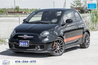 Used 2015 Fiat 500 Abarth 1Owner CleanCarfax CertifiedWarrantyFinance for sale in Bolton, ON