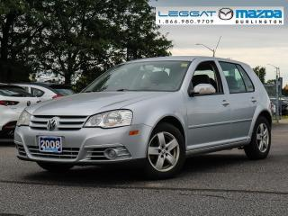 Used 2008 Volkswagen Golf City for sale in Burlington, ON