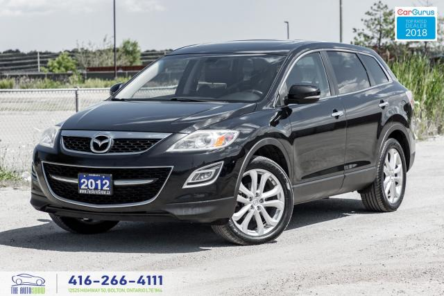 2012 Mazda CX-9 GT AWD NavGpsRCam LeatherSunroof Certified Finance