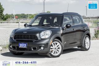 Used 2013 MINI Cooper Countryman S ALL4 M-6 AWD 1owner CleanCarfax CertifiedFinance for sale in Bolton, ON