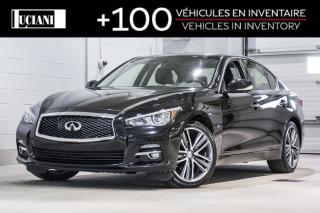 Used 2015 Infiniti Q50 2015 Infiniti Q50 - AWD! 212$ au 2 semaines!! for sale in Montréal, QC