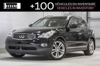 Used 2015 Infiniti QX50 2015 Infiniti QX50 - AWD ! CAMERA 360,BOSE ! for sale in Montréal, QC