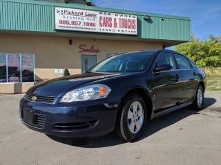 Used 2009 Chevrolet Impala LS CERTIFIED!!!!!! for sale in Bolton, ON