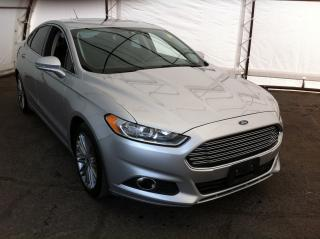 Used 2013 Ford Fusion POWER SUNROOF, LEATHER HEATED SEATING, REVERSE CAMERA, NAVIGATION for sale in Ottawa, ON