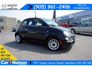 Used 2012 Fiat 500 Lounge LOUNGE | LEATHER | SUNROOF | REAR SENSORS | for sale in Hamilton, ON