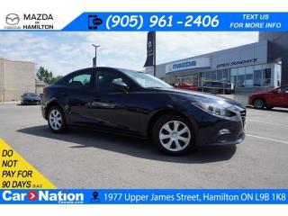 Used 2016 Mazda MAZDA3 GX | HEATED SEATS | REAR CAM | BLUETOOTH for sale in Hamilton, ON