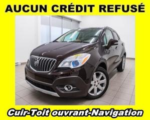 Used 2016 Buick Encore AWD TOIT OUVRANT NAVIGATION *CUIR* for sale in St-Jérôme, QC