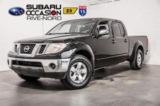 Used 2011 Nissan Frontier SV 4X4 for sale in Boisbriand, QC