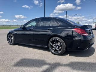 Used 2017 Mercedes-Benz C43 AMG C43 AMG, CUIR AMG ROUGE, SYSTÈME ÉCLAIRA for sale in Trois-Rivières, QC