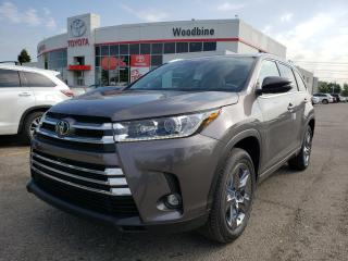 Used 2019 Toyota Highlander Limited SAVE BIG ON THIS DEMO MODEL! CALL FOR DETAILS for sale in Etobicoke, ON