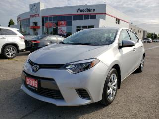 Used 2015 Toyota Corolla - for sale in Etobicoke, ON