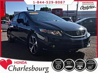 Used 2014 Honda Civic SI 4 PORTES **UN PROPRIÉTAIRE** for sale in Charlesbourg, QC