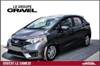 Used 2016 Honda Fit LX - Air clim - Camera - Sieges chauffant - for sale in Ile-des-Soeurs, QC