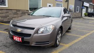 Used 2011 Chevrolet Malibu LT-TINT-ALLOY WHEELS-LOADED for sale in Tilbury, ON