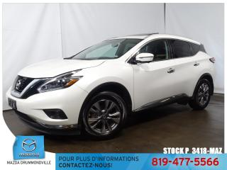 Used 2018 Nissan Murano |SL|CUIR|TOITPANO|GPS|AWD|MAG| for sale in Drummondville, QC