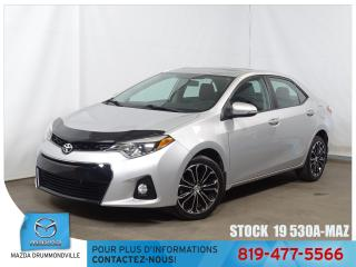 Used 2014 Toyota Corolla S|TOITOUV|CUIR|MAG|SIEGCHAUF|BASKILO** for sale in Drummondville, QC
