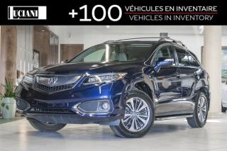 Used 2017 Acura RDX 2017 Acura RDX Elite * Certified * Navigation * for sale in Montréal, QC