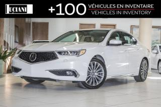 Used 2018 Acura TLX 2018 Acura TLX ELITE * NAVIGATION * APPLE CARPLAY for sale in Montréal, QC