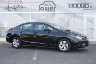 Used 2015 Honda Civic LX CVT ***GARANTIE 10ANS/200 000KM*** for sale in Québec, QC