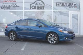 Used 2012 Honda Civic SI ***GARANTIE 10ANS/200 000KM*** for sale in Québec, QC