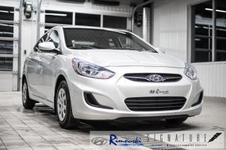 Used 2014 Hyundai Accent GL-4 chez Rimouski Hyundai for sale in Rimouski, QC