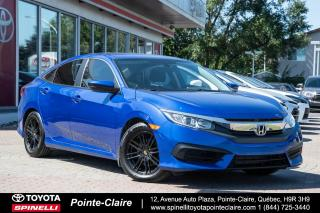 Used 2016 Honda Civic LX 6 VITESSES for sale in Pointe-Claire, QC