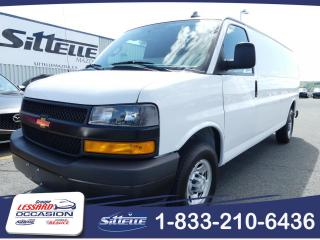 Used 2018 Chevrolet Express 2500 / A/C / CAMERA DE RECUL / JAMAIS AC for sale in St-Georges, QC