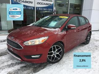 Used 2016 Ford Focus SE ENS SPORT CERTIFIÉ FORD TAUX A 2.9% 6 for sale in St-Georges, QC