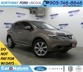 Used 2013 Nissan Murano Platinum | AWD | NAV | HTD LEATHER | PANOROOF | for sale in Brantford, ON