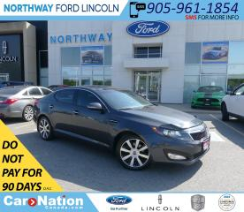 Used 2012 Kia Optima EX | LUXURY |  HTD LEATHER  | PANOROOF | for sale in Brantford, ON