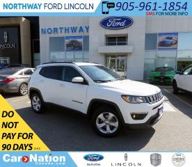 Used 2018 Jeep Compass North | 4x4 | LEATHER | BLUETOOTH | PUSH START | for sale in Brantford, ON