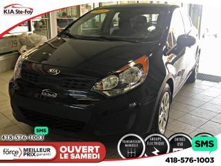 Used 2015 Kia Rio LX *GROUPE ELECTRIQUE *BLUETOOTH *USB for sale in Québec, QC