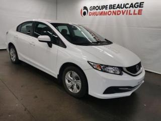 Used 2015 Honda Civic LX for sale in Drummondville, QC