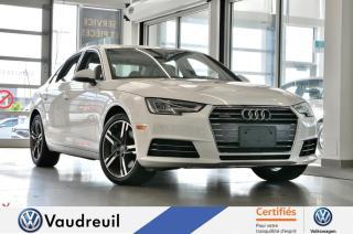 Used 2017 Audi A4 Technik quattro * B&O * NAVIGATION * for sale in Vaudreuil-Dorion, QC