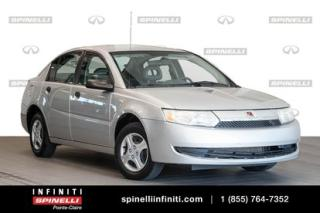 Used 2004 Saturn Ion Base - As traded Bas mileage for sale in Montréal, QC