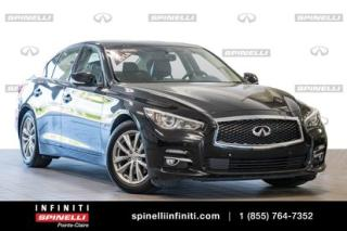 Used 2014 Infiniti Q50 PREMIUM TECH - TOIT - GPS - CAMERA PREMIUM TECH - TOIT - GPS - CAMERA for sale in Montréal, QC